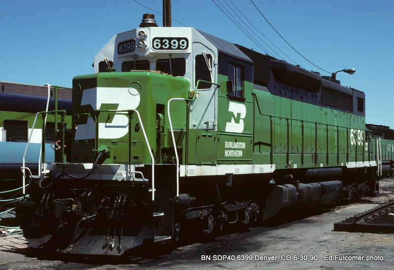 Burlington Northern 6399