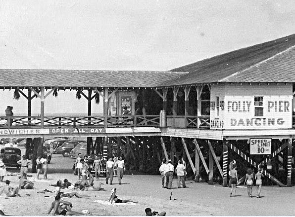 1950s folly beach pier.image