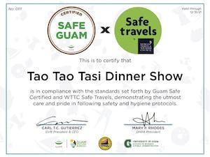 Taotao Tasi Safe Travels