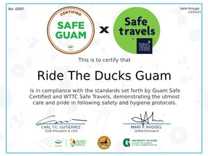 Ride the Ducks safe travels