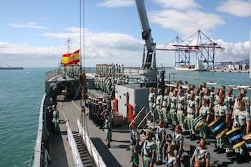Desembarco De La Legión En Málaga Mundo Marino