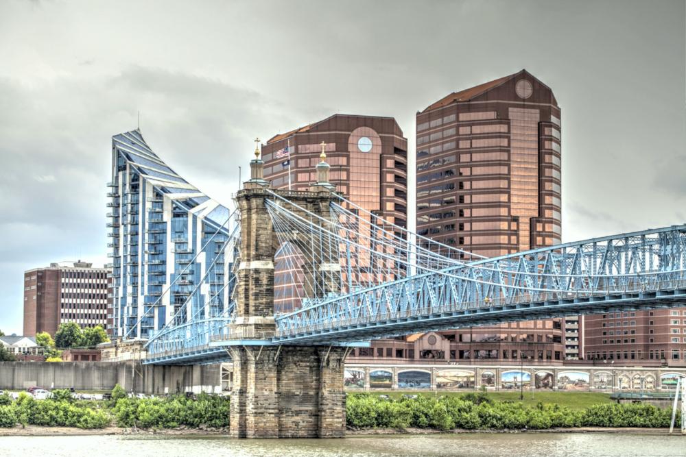 Roebling Suspension Bridge