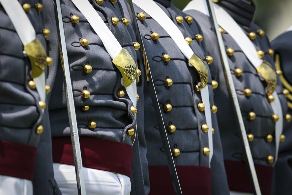 a military uniform