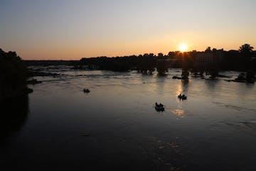 Sunset Rafting