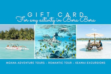 Moana Adventure Tours Gift Card