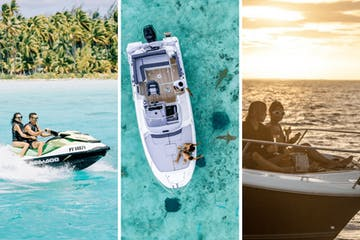 Pictures of Moana Adventure Tours 3 private excursions package in Bora Bora