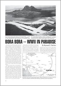 Bora Bora - WW2 in Paradise article