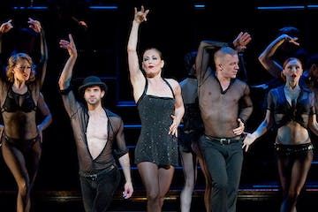 broadway performers on stage