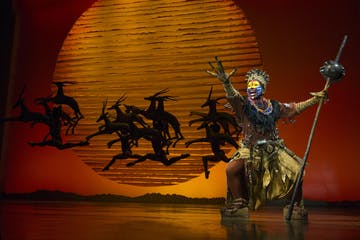 lion king performance on broadway