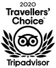 TripAdvisor Travelers Choice 2020 black logo