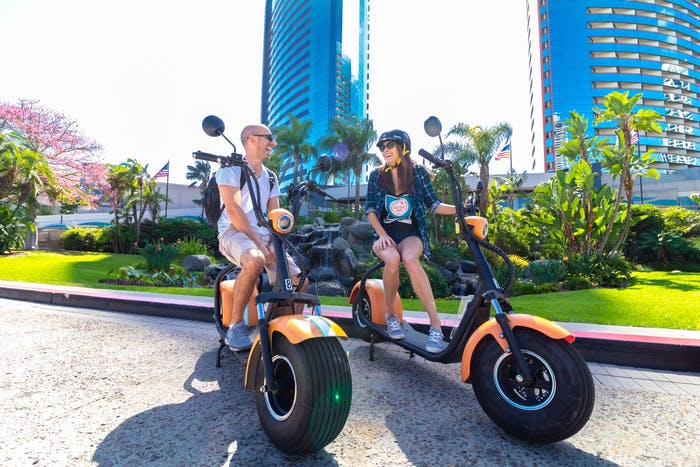GPS Guided Tours & Scooter Rentals San Diego | Electric Bicycle Store