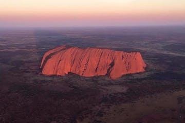 a view of Uluru