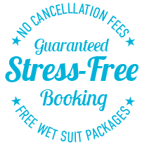 stress free booking badge