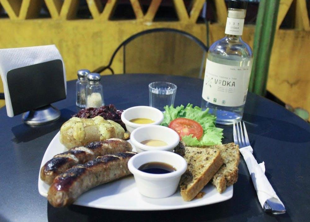 German Food in Oaxaca