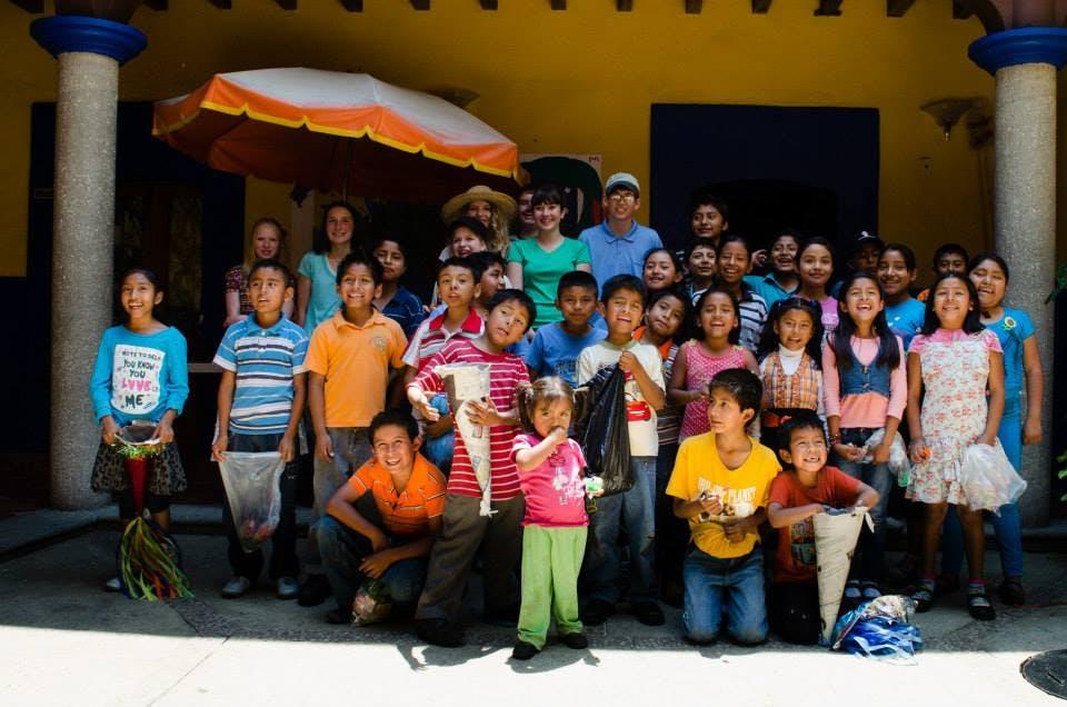 Oaxacan children supported by Centro de Esperanza Infantil