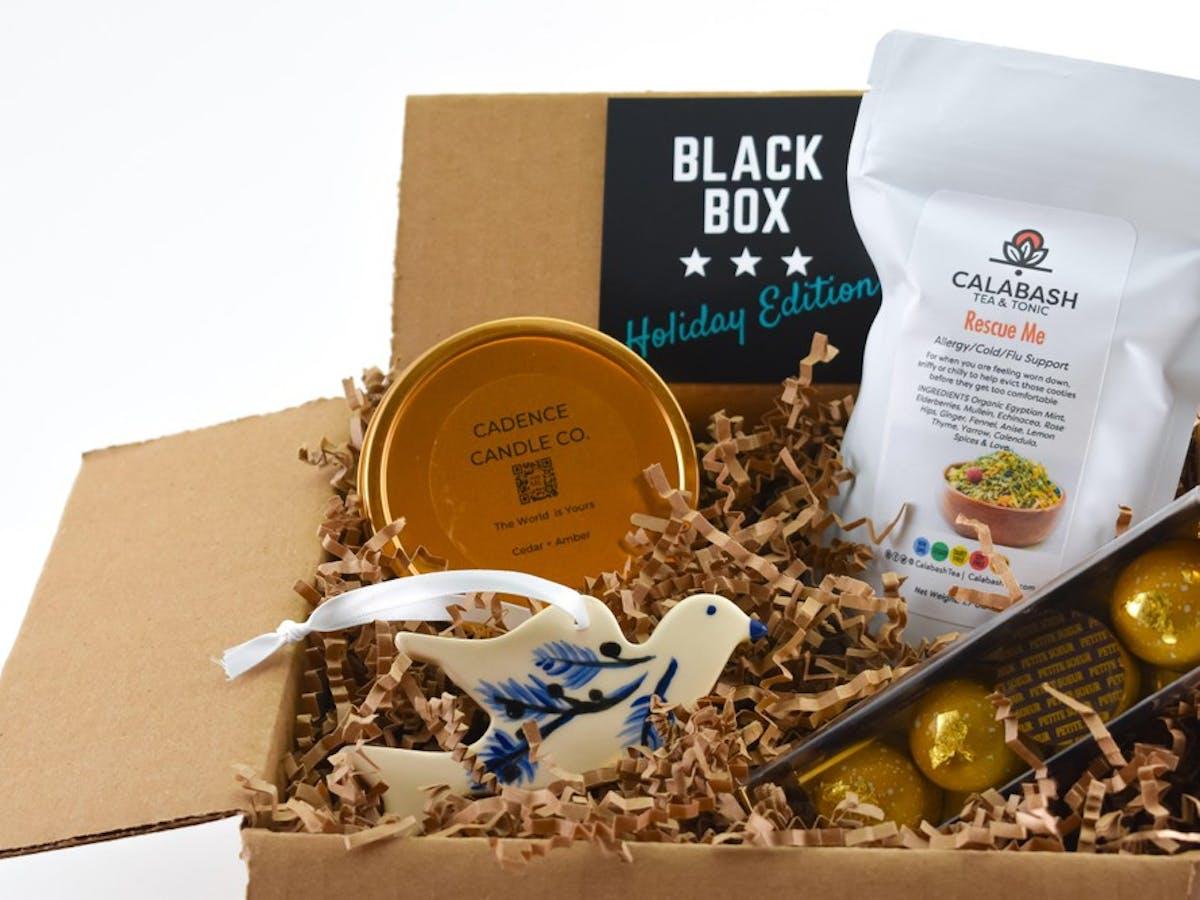 Black Box Holiday Edition gift box
