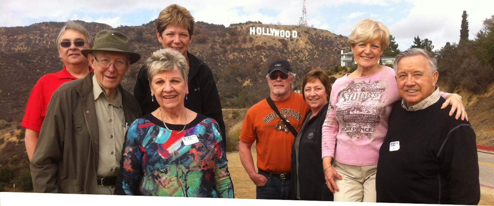 Group of 8 Hollywood Sign for home page