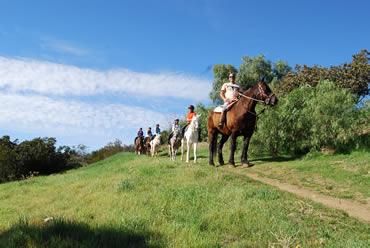 horse back riding la