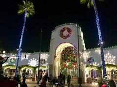 universal studios christmas photo