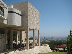 Getty Center view photo