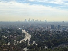 Hollywood Bowl overlook photo