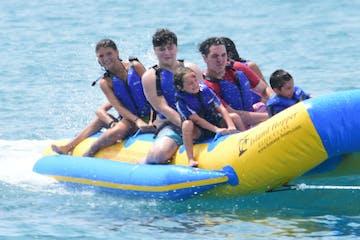 Kids on Banana Boat