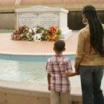 The King Center memorial
