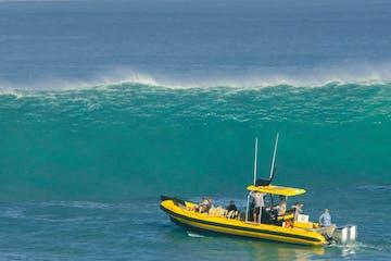 boat inside Waimea