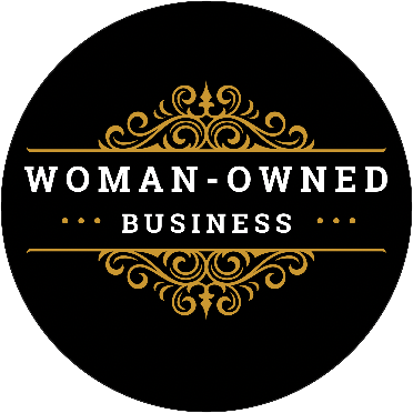 logo, woman-owned business