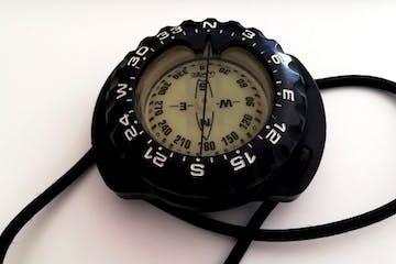 a clock on a table