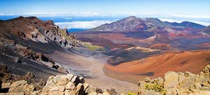 Beautiful landscape from Haleakala Crater