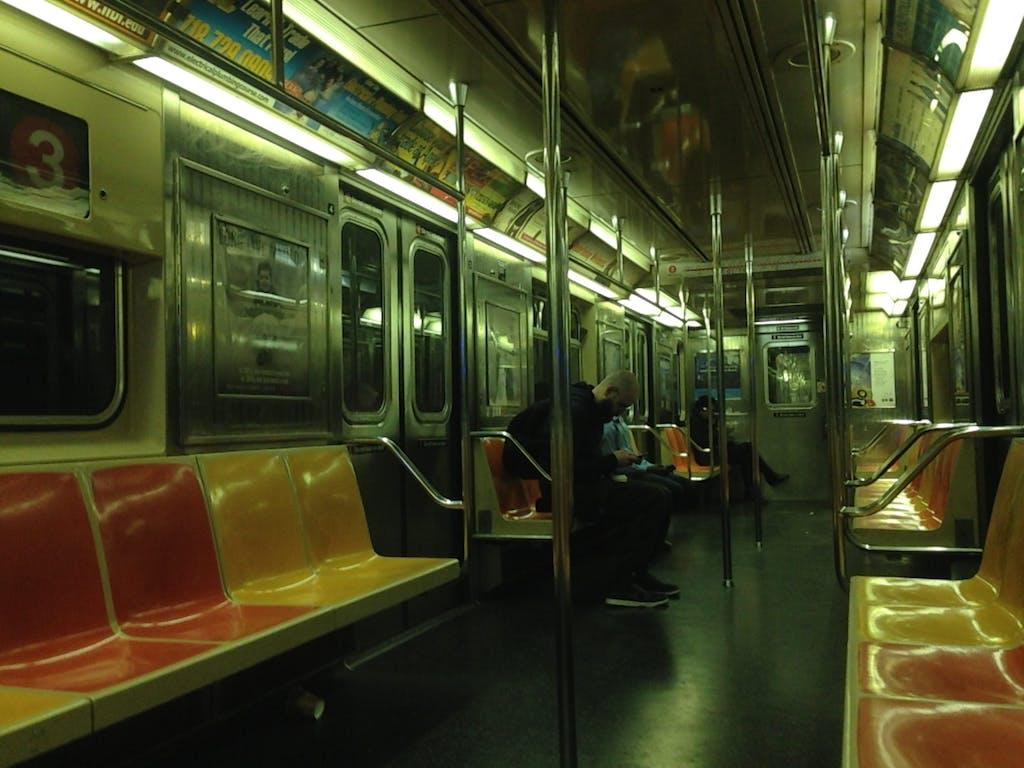 Inside a Subway Car