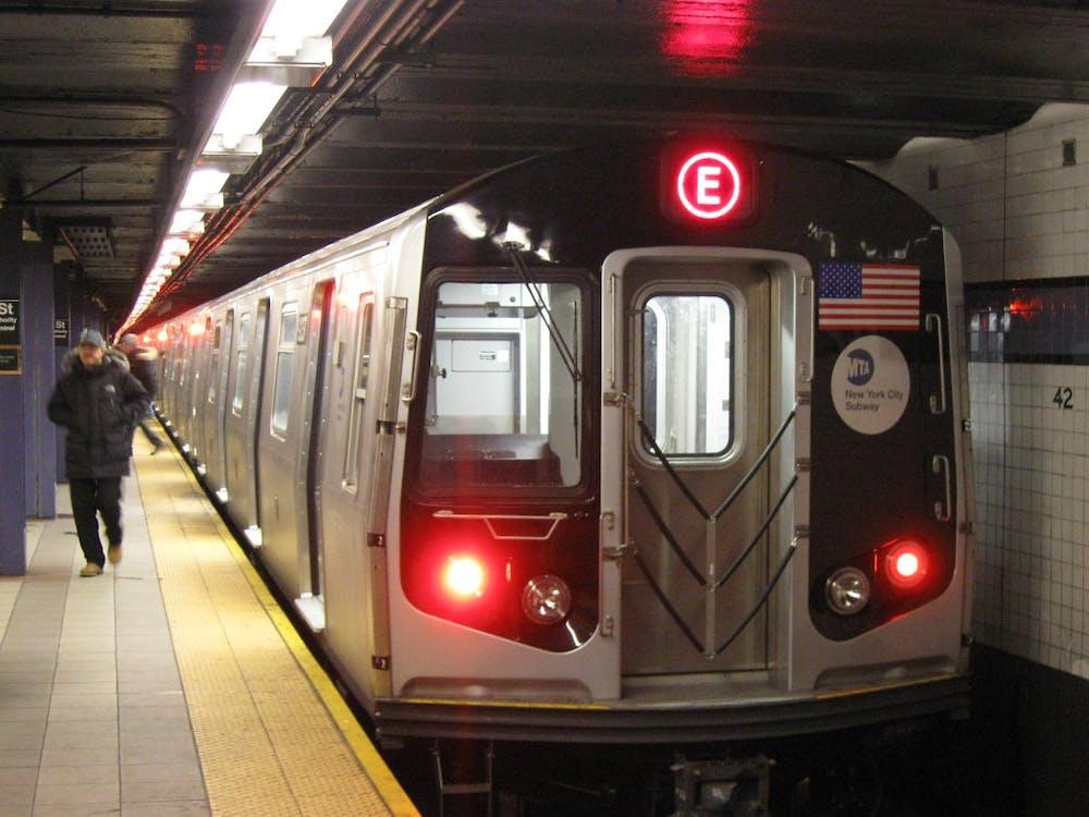 NYC Subway E Train