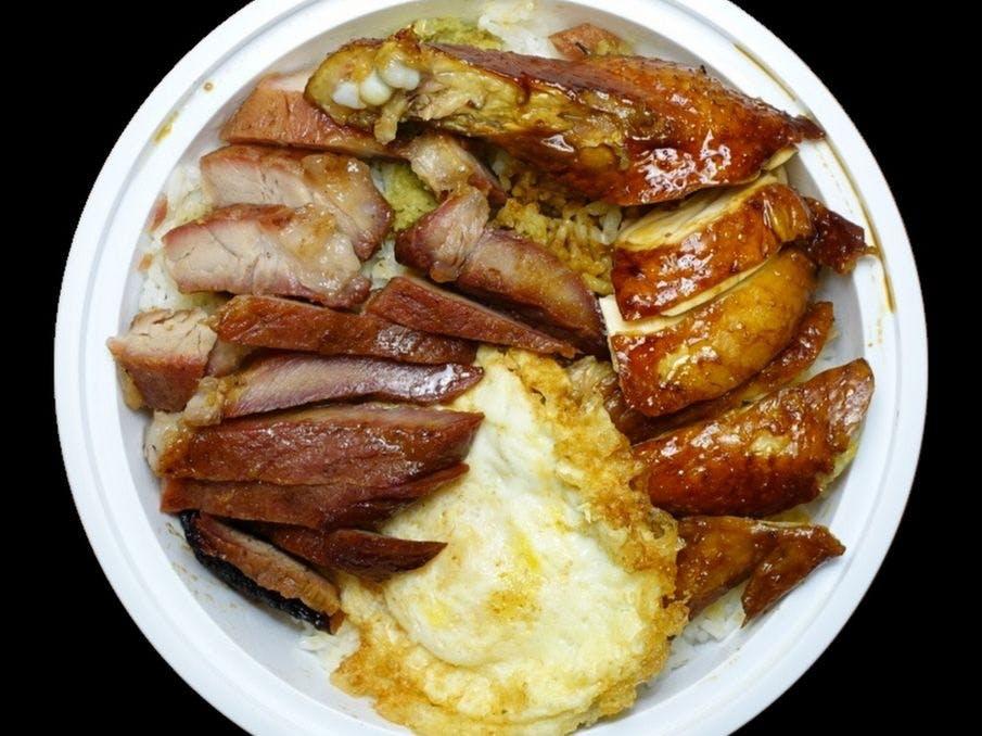 Big Wong Roast Pork Soy Sauce Chicken Rice
