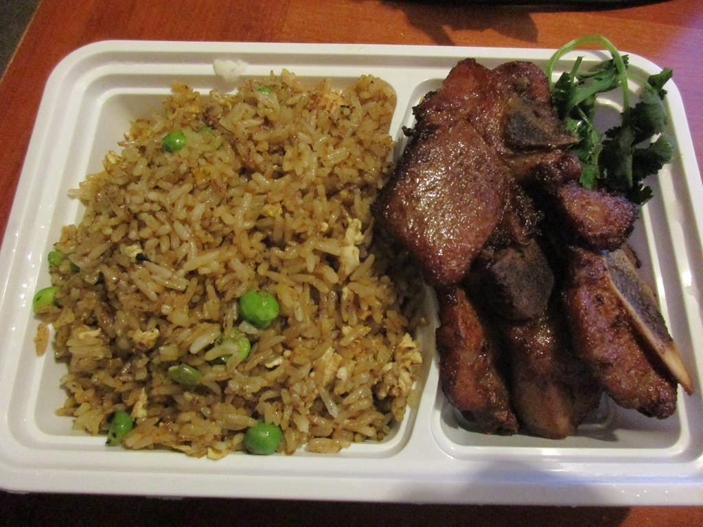 New Malaysia Pork Chop and Fried Rice