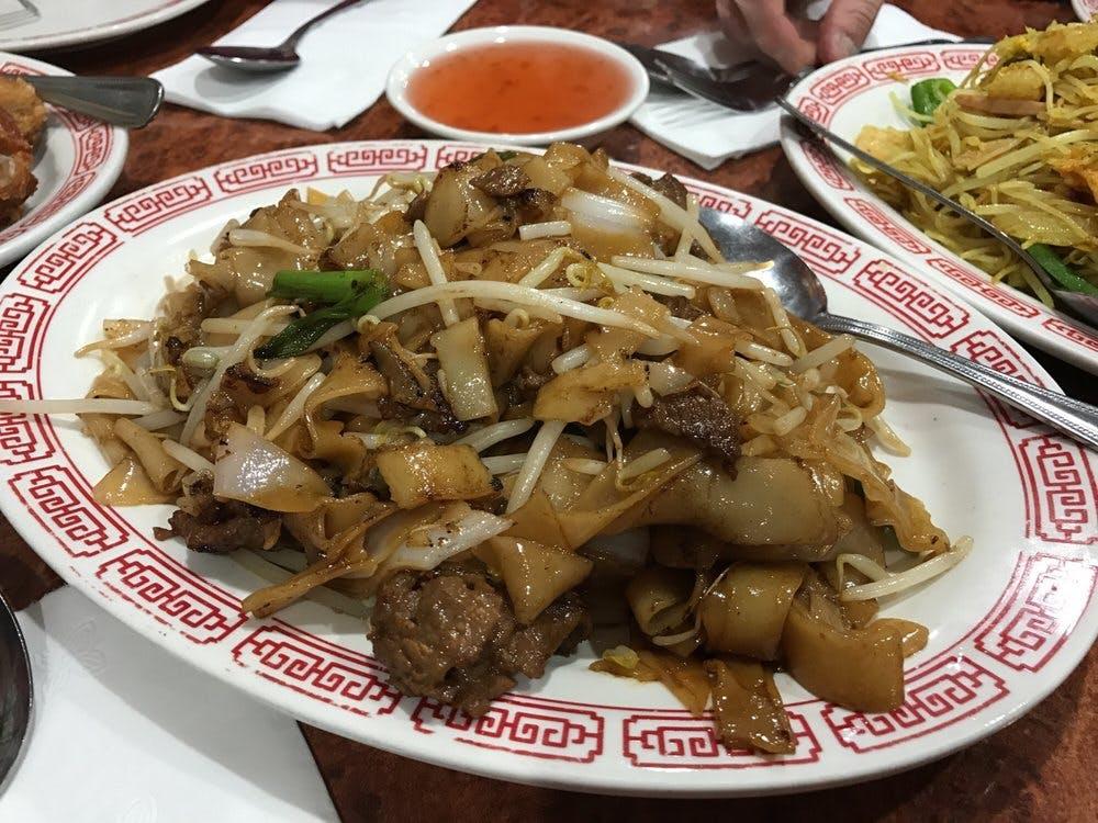 WK Beef Chow Fun