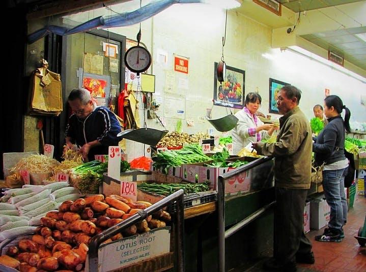 Chinatown Fruit Stand