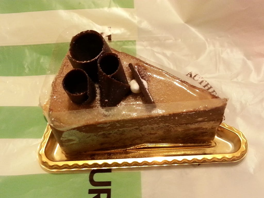 Tous Les Jours Double Chocolate Cake