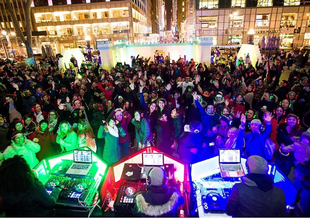 Bryant Park Winter Carnival Silent Disco