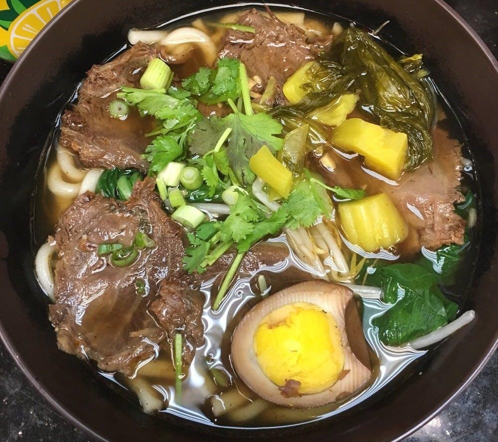 Kam Man Hibachi Taiwanese Beef Noodle Soup