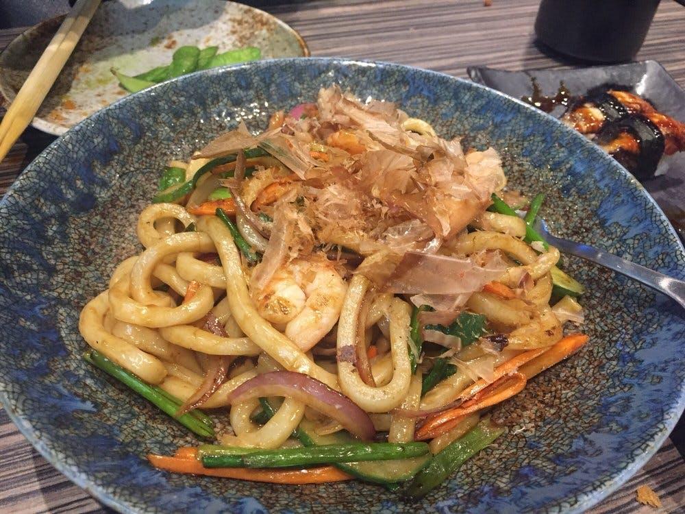 Matsunichi Stir Fried Udon