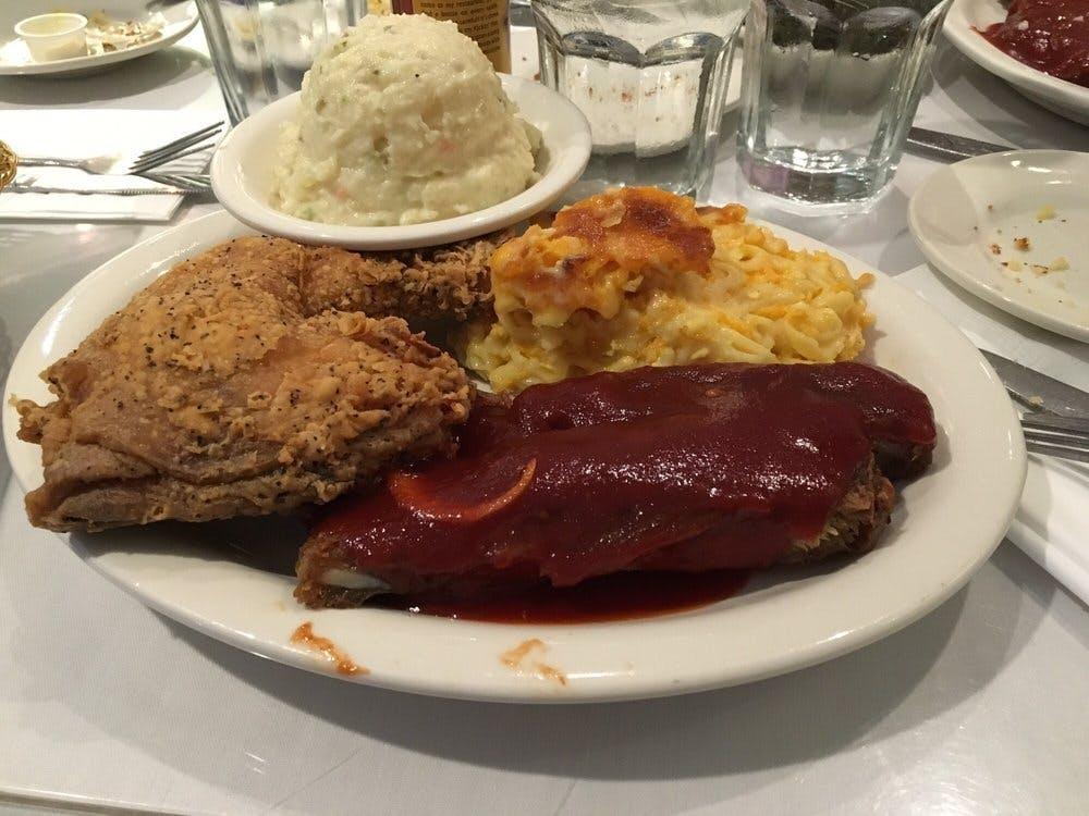 Sylvia's Restaurant Ribs and Fried Chicken