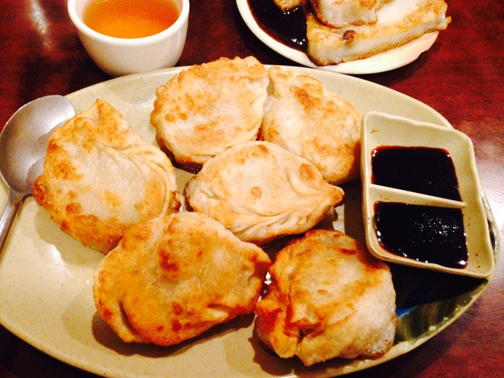 Vegetarian Dim Sum House Fried Dumplings