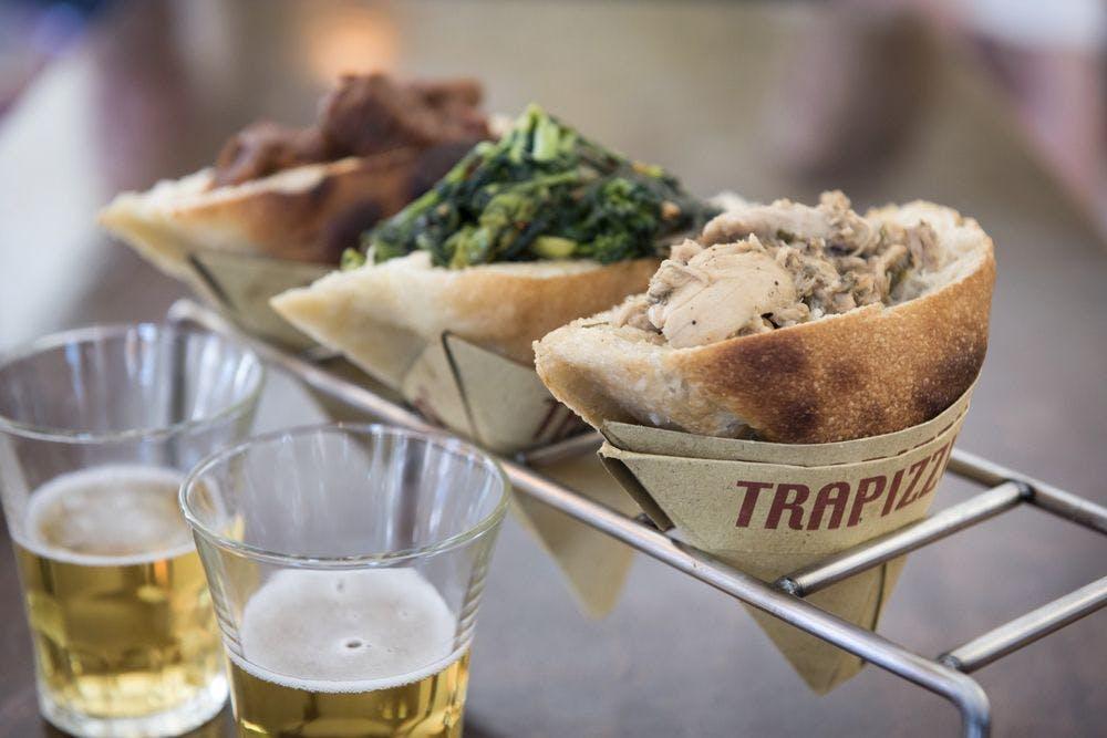 Trapizzino Pizza Sandwiches