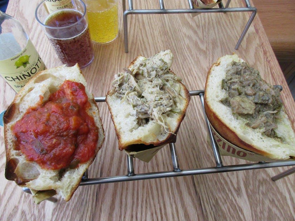 Trapizzino Sandwiches