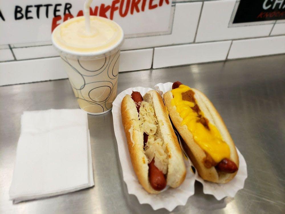Grays Papaya Hot Dog Combo