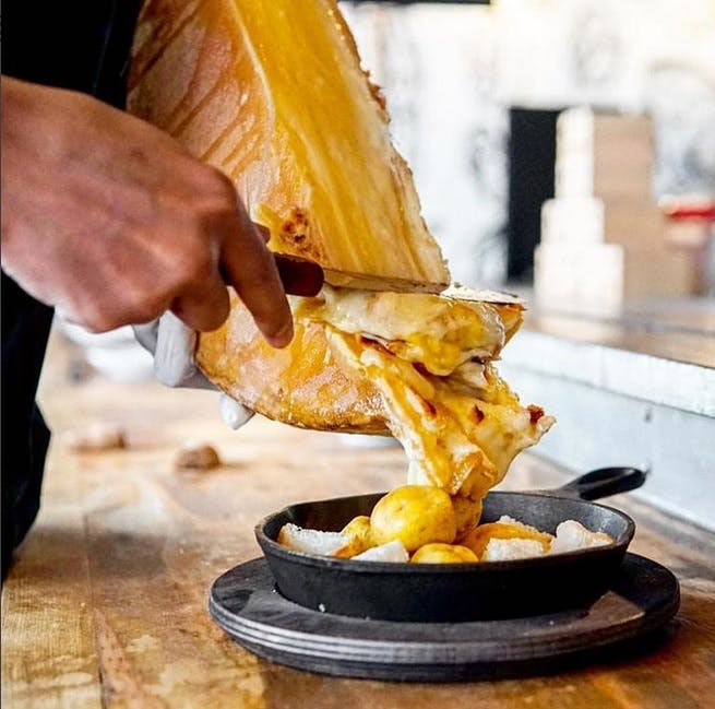 Raclette French Cheese Board