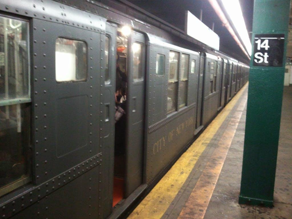 MTA Throwback Holiday Train 2