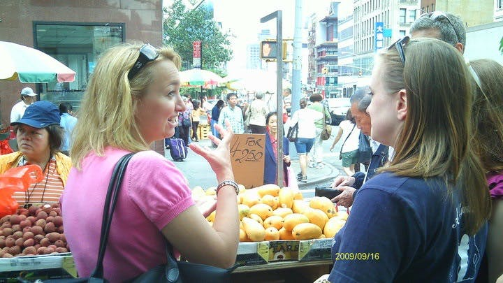Ahoy New York Fruit Stand