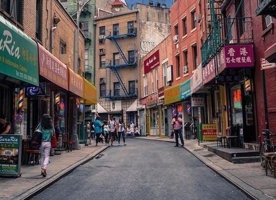 Doyers Street Heart of Chinatown